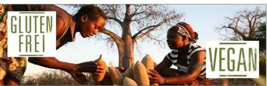 Baobab - Fruchtpulver und Konfekt