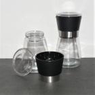 Gewürzmühle aus Glas mit Keramikmahlwerk