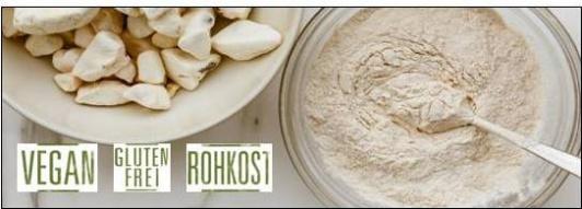 Baobab vegan - Konfekt und Fruchtpulver