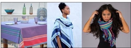 Kikoy Baumwolltücher, Schals