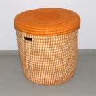 Wäschekorb orange