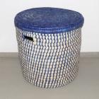 Wäschekorb blau