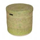 Wäschekorb grün