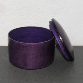 Ziegenlederdose violett
