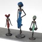 Bronzefiguren aus Burkina Faso