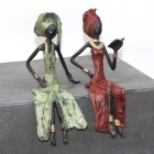Sitzende Frauen - ab 23 cm