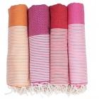 Rot-, Orange-, Pink-, Gelbtöne