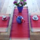 Tischsets aus Raffia
