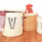 Flechthandwerk - Wäschekörbe