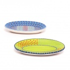 Platten, oval - 22,5 x 12,5 cm